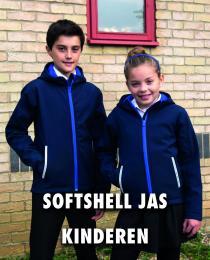 Softshell jas kinderen