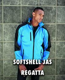 Softshell jas Regatta