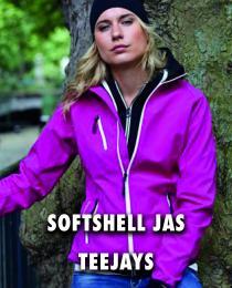Softshell jas Teejays