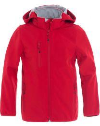 Basic Softshell Jacket Junior New Wave
