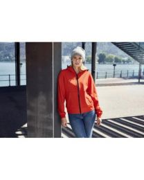 James & Nicholson Hooded softshell Jacket Dames