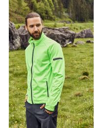 James & Nicholson Sports Softshell jas Heren