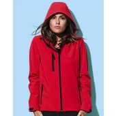 Softshell Jas Active Softest Shell Hooded Dames